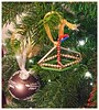 Heirloom Decoration 3 (tubblesnap) Tags: family heirloom christmas xmas noel decoration bauble boat beads old ancient collectors item tree hanging