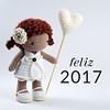 Happy New Year! (Maria Handmade) Tags: mariahandmade mariahandmadedesign maryangela crochet crochê cute amigurumi amigurumidoll ganchillo handmadedoll