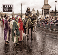 170101 0538 (steeljam) Tags: steeljam nikon d800 london new year parade lights camera action lawrence arabia horse