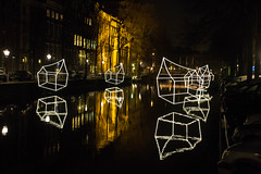 amsterdam light festival: Welcome to my home(town) (Lighting Design Academy) (kevin.hackert) Tags: wasser amsterdam amsterdamlightfestival architect artist boatroute designer gracht grachten illuminade international lightfestival lights walkingroute watercolors noordholland niederlande