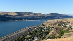 Wishram (Lone Rock) Tags: columbiariver highway14 mthood unitedstates usa washington wishram