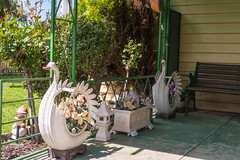 Newport (Westographer) Tags: newport melbourne australia westernsuburbs suburbia tyreswans gardenornaments frontporch