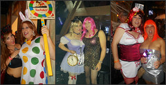 Collage5 (MaryAnn Ginger) Tags: cd crossdress costume cosplay crossplay tranny tgirl halloween
