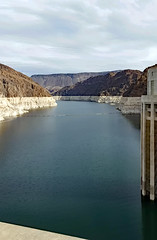 Colorado River from Hoover Dam (SteveMather) Tags: hoover boulder dam lasvegas hydroelectric generators lakemead blackcanyon coloradoriver