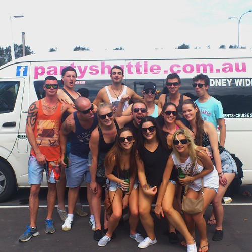 #partyshuttle a group to Miranda. Day or night, we'll get you to your destination the fun way.