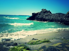 Crete's beauty (braziliana13) Tags: blue sea beach rock landscape island greek greece crete chania  falassarna