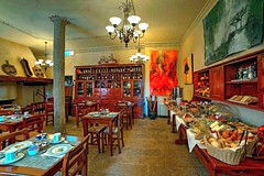 Dining Tuscan Style (fotomark.net) Tags: food color breakfast tuscany dining siena