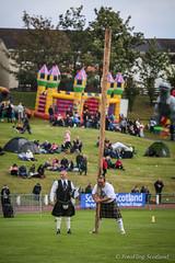 Caber Toss - Stuart Anderson (FotoFling Scotland) Tags: argyll dunoon highlandgames scotland stuartanderson caber cowalgathering kilt scottish toss