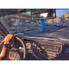 عالطريق،الى الشمال، مع السمكة! (Waelboy) Tags: square squareformat iphoneography instagramapp uploaded:by=instagram