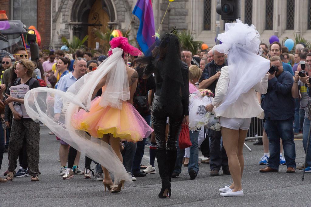 DUBLIN 2015 LGBTQ PRIDE PARADE [WERE YOU THERE] REF-105994