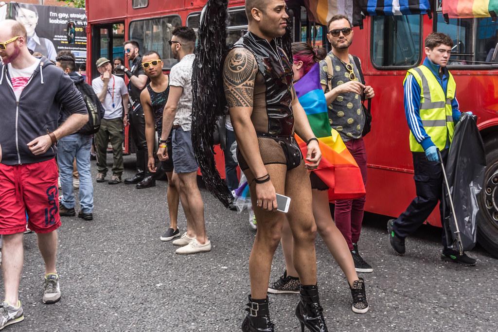 DUBLIN 2015 GAY PRIDE FESTIVAL [BEFORE THE ACTUAL PARADE] REF-106240