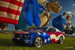 Mustang- Red,White & Balloon (Al Perrette) Tags: alperrette