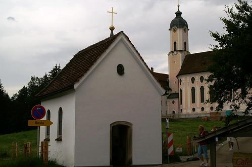Wieskirche - Original chapel, Bavaria, Germany