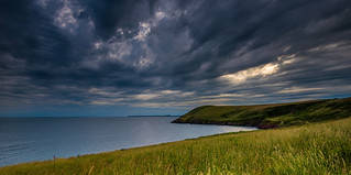 Manorbier Bay, Pembrokeshire