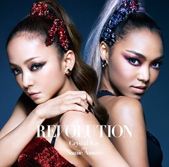 Revolution- Crystal Kay feat. Namie Amuro (CD + DVD cover) (Namie Amuro Live ) Tags: namie amuro cover revolution collaboration singlecover cddvd crystalkay