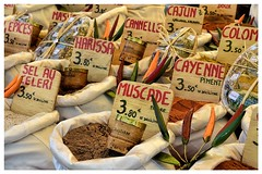 Spices (marypink) Tags: food france colors market pov spices dettagli provence colori mercato francia cibo spezie epices bancarella provenza 2470mmf28 nikond7200