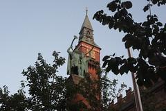 Copenhagen spire (Drowsy Emperor) Tags: copenhagen spire historicbuilding