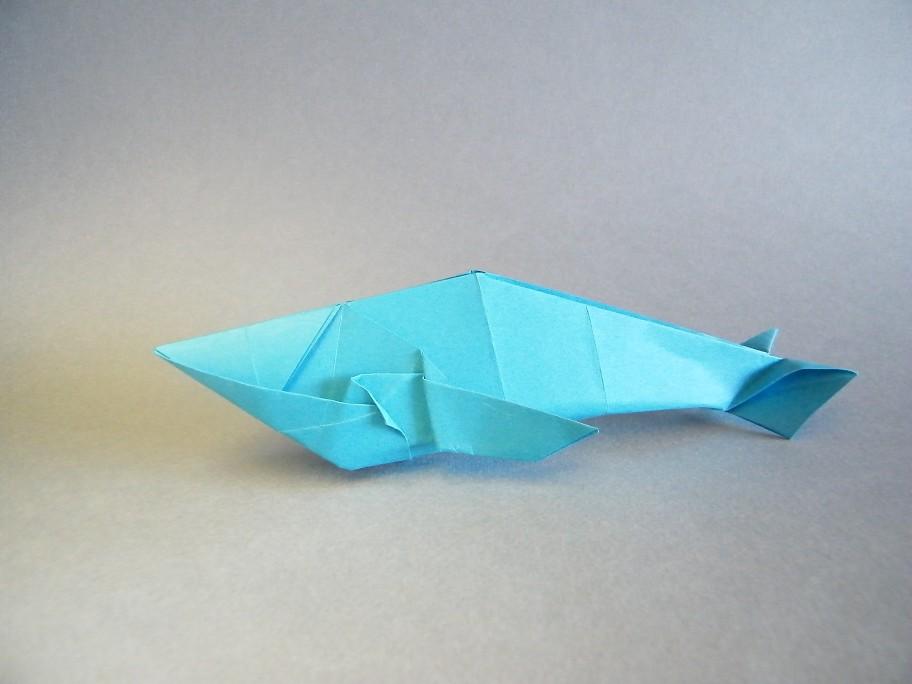 Roda Tags Origami Whale Papiroflexia Ballena