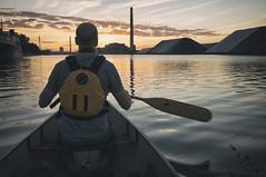(William Self) Tags: morning summer toronto ontario sunrise paddle canoe shipchannel portlands 2015 sonynex6