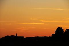 Sunset (the_orl) Tags: sunset red summer cloud church night deutschland time kirche wolken landschaft afterglow gegenlicht tbingen kapelle badenwrttemberg