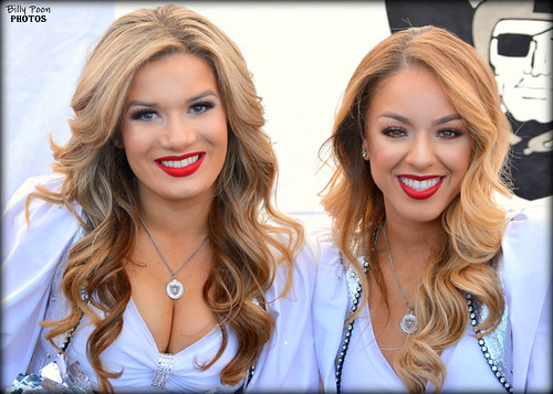 2016 Oakland Raiderettes Morgan & Angel