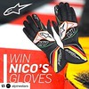 How awesome is this!? Any Hulk or F1 fan would love including me!! #Repost @saharaforceindiaf1 ・・・ #Repost @alpinestars with @repostapp ・・・ REPOST TO WIN a pair of custom @alpinestars gloves! A one of a kind set made for @saharaforceindiaf1 worn by @hulkh (JenniferRay.com) Tags: instagram carbon fiber jewelry exclusive jrj jennifer ray paracord custom