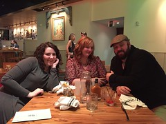 Celebrating New Year's Eve at the Fin & Pearl (JohnnieEberle) Tags: finandpearl marcie jamie jason