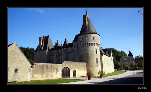 Le Chateau de Fougères sur Bièvre.