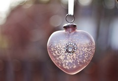 New Beginnings (kkirby864) Tags: newyear newbeginnings 2017 happy freshstart resolutions time heart love ornament bokeh outdoors cheers mercuryglass