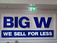 Big W Tea Tree Plaza - Hybrid Look (RS 1990) Tags: teatreeplaza ttp modbury adelaide southaustralia tuesday 3rd january 2017 bigw store hybridlook