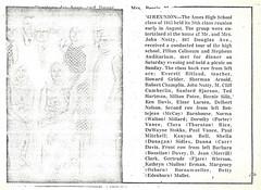 1973-08 Early August AHS class of 1943 30th reunion (ameshighschool) Tags: 1943 1943ahs 1973 30th ahs ahs1943 ahsaa alumni ameshighschool ameshighschoolalumniassociation amesiowa ameshighclassof1943 classphoto classreunion classmate classmates group iowa reunion scan newspaper article