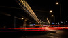 Traffic circle (Eyes on Stockholm) Tags: sweden stockholm västberga traffic longexposure city suburb night