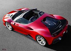 Ferrari-J50-2017 (Stu Bo) Tags: ferrari 2017 red certifiedcarcrazy coolcar shadows sbimageworks smooth hdr vivid beautiful dreamcar sportscar speed worldcars wheels engine