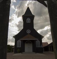 Igreja Preta (fabsciack) Tags: igreja church oldchurch dark preto preta céu nuvens nublado sky clouds cloudy agrolândia agrolandia santacatarina brasil brazil br ieclb igrejaluterana