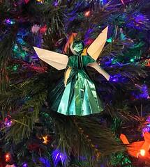 Origami Angel (mehjg) Tags: ornament christmas angel origami