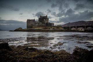 A Famous castle in Scotland