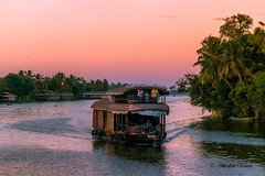 Sunset Cruise on Alleppey Backwaters (abhishek.verma55) Tags: sunset sunsetlovers sunsetpics canon550d tamron2470 houseboats backwaters lagoon nature natureisbeautiful natureatitsbest sunlover orange orangeglow travel travelphotography trees ©abhishekverma flickr photography beautiful beautifulnature greens colourful colour color boat cloudsstormssunsetssunrises evening dusk alleppey alleppeybackwater keralabackwaters backwater exploreindia india incredibleindia kerala famousplaces alappuzha greenery golden landscape sea seascape seaside outdoor southindia travelphotos water explosionofcolors explosionofcolours yellow horizon sky skylovers skyporn cruise flickrtravelaward