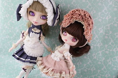 Lupinus & Quince (pullip_junk) Tags: pullip dal fashiondoll asianfashiondoll groove quince lupinus creatorslabel