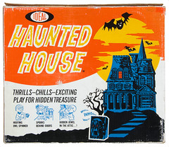1962 Ideal Haunted House game (Tom Simpson) Tags: hauntedhouse halloween boardgame game gaming tabletop vintage 1962 1960s