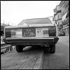 (B-Side of a Fiat 131 S Mirafiori) (Robbie McIntosh) Tags: hasselblad hasselblad500cm carlzeissdistagon50mmf4ct 120 mediumformat 6x6 square negative film filmisnotdead moyenformat mittelformat medioformato pellicola selfdevelopment dyi homedevelopment bw blackandwhite monochrome kodakhc110dilb kodak hc110 car classiccar fujineopanacros fuji neopan acros fiat131smirafiori fiat131mirafiori fiat 131 mirafiori
