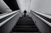 Stairs (Sergio Nevado) Tags: escaleras stairs blanco negro black white arquitectura architecture salburua vitoria gasteiz alava araba pais vasco euskadi