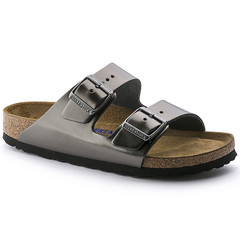 "Birkenstock Arizona sandal metallic anthracite • <a style=""font-size:0.8em;"" href=""http://www.flickr.com/photos/65413117@N03/32208163384/"" target=""_blank"">View on Flickr</a>"