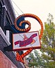 Hard to Miss. (Pete Zarria) Tags: southdakota bar eat sign bulb neon plastic smalltown beer liquor wine whiskey colorful