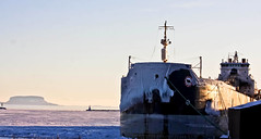 Winter Rest (beverlyks) Tags: thunderbayoncanada algolake lakesuperior greatlakes shipping lakers