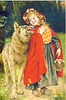 Little red riding Hood - Rotkäppchen (postcardlady1) Tags: rotkäppchen littleredridinghood