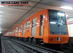 NM-83 A/CAF NE 92  Gomez Farias L-1 (infecktedmetromx) Tags: caf ne92 concarril nm83 stc nm83a cdmx subway metro df stcmetro mexico metrodelaciudaddemexico cddemexico cdsahagun l1
