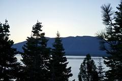 Lake Tahoe, Sunrise to Sunset Sept. 2016 (<<Purple Bullet>>) Tags: sunrise sony a6000 nex ilce beautiful landscape california sierranevada laketahoe forest pastel sunset serene zeiss rokinon outdoor tree plant lake conifer pine