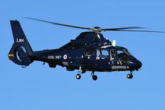 SA365N2 Dauphin, ZJ164 (WestwardPM) Tags: sa365 sa365n2 dauphin zj164 fost britishinternationalhelicopters bih newquayairport cornwallairportnewquay