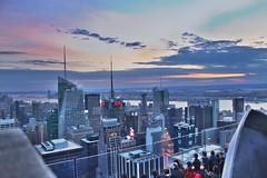 NYC Sunset (Danjack89) Tags: topoftherock nyc new york newyork sunset newyorksunset nycsunset