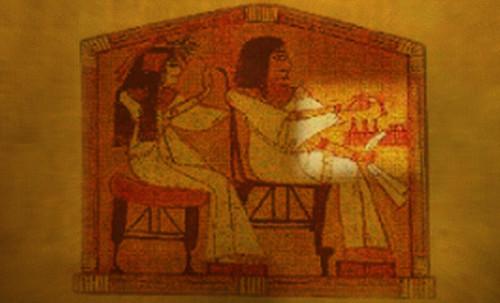 "Senet - Lujoso sistema de objetos lúdicos obsequio del dios Toht a la faraona Nefertari • <a style=""font-size:0.8em;"" href=""http://www.flickr.com/photos/30735181@N00/32521951385/"" target=""_blank"">View on Flickr</a>"